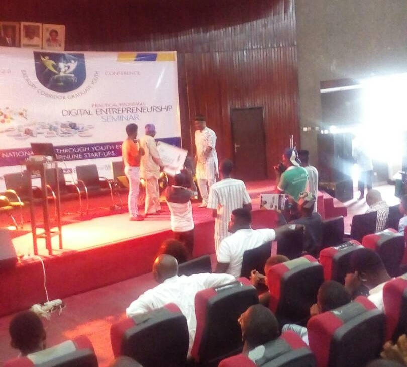 BRUDER-HILFE SDI REPORT ON BADAGRY CORRIDOR GRADUATE-YOUTH CONFERENCE